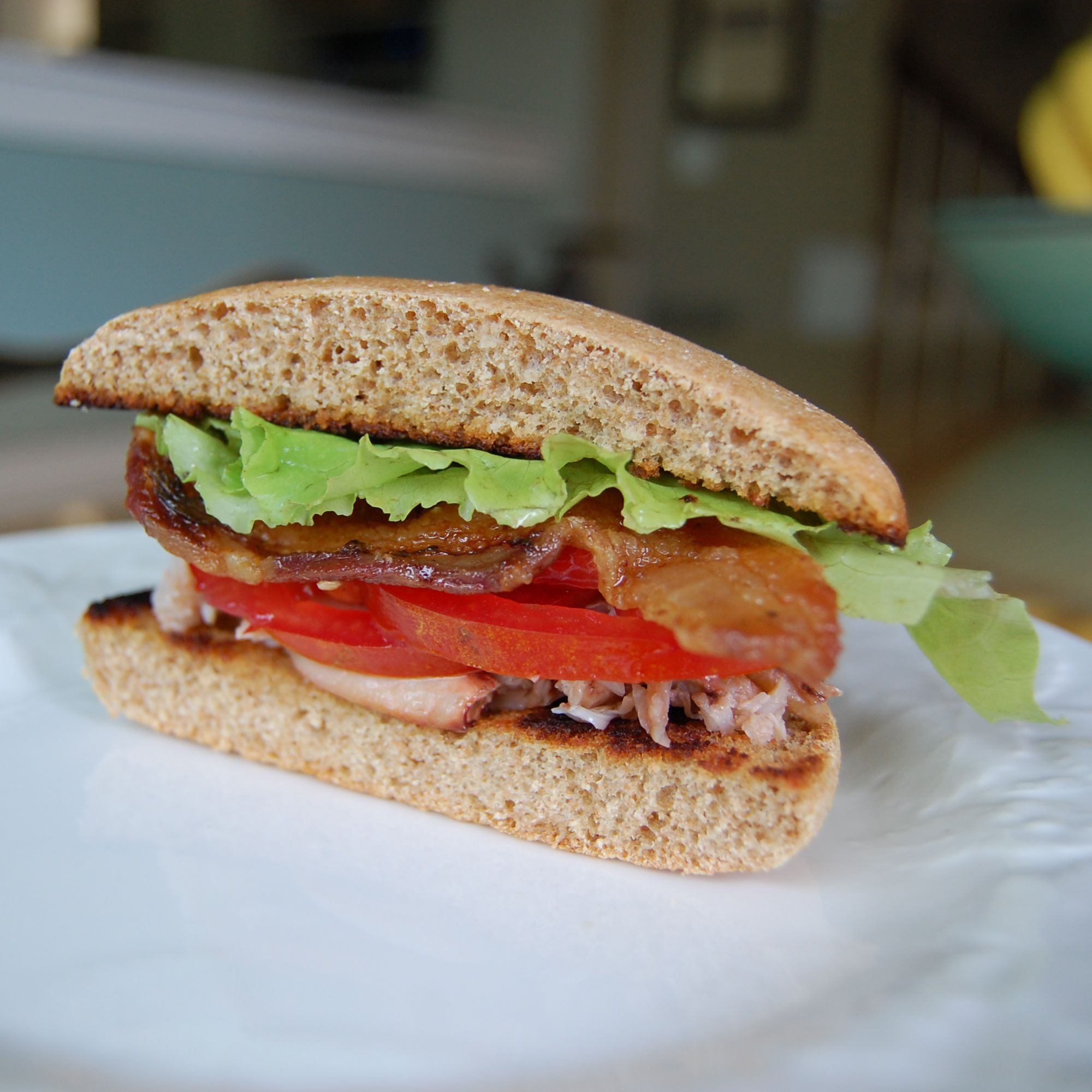 Blt With Or Without Crabmeat