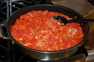 Recipe: Homemade Spaghetti Sauce from 100 Days of Real Food