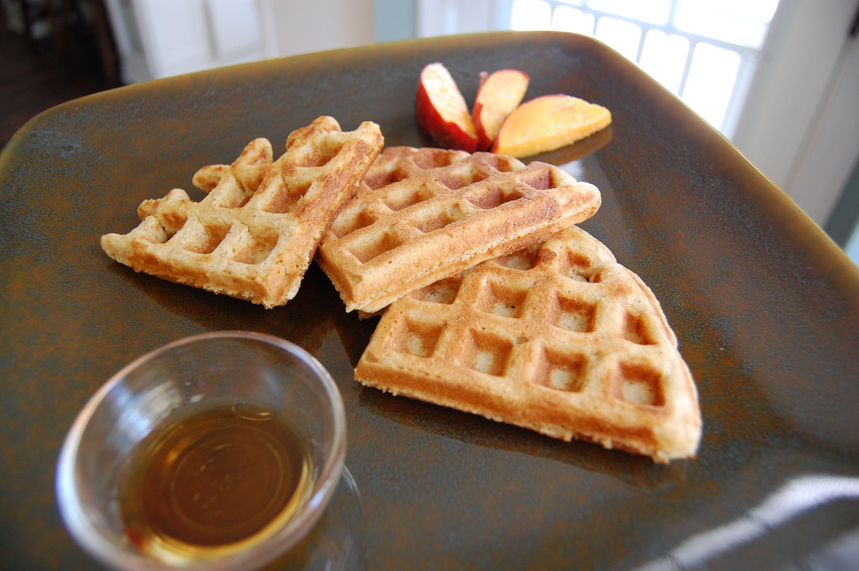 Recipe: Whole-Wheat Waffles | The Food Illusion