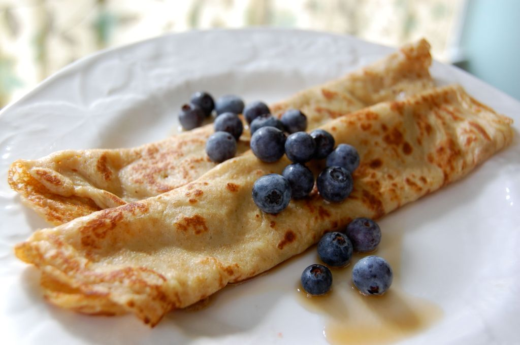 Crepes from 100 Days of Real Food