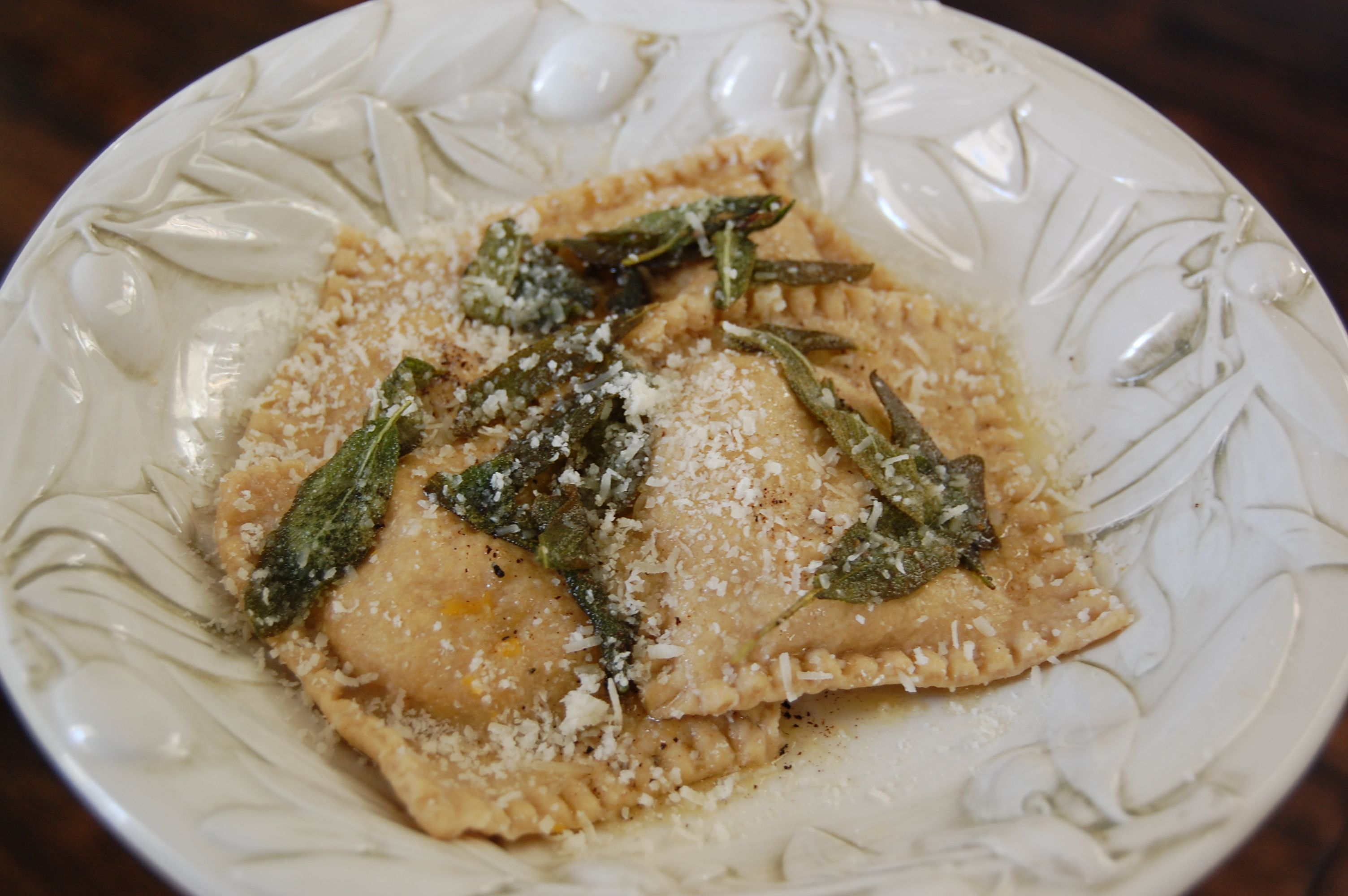 Recipe Butternut Squash Ravioli The Food Illusion